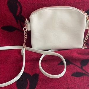 Charming Charlie mint crossbody w 3 compartments!
